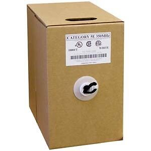 Boxes of CAT 5 cable for sale West Island Greater Montréal image 1