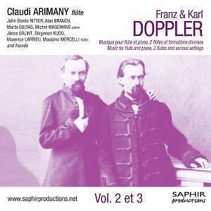 Franz & Karl Doppler-Vol.2 et 3 von Various Artists 2012 Klassik Musik