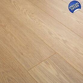 Grey or Oak style Laminate Flooring 7mm £7.20m2 ( £16.16 per pack )