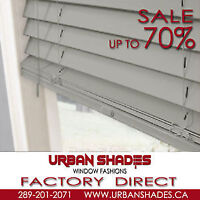 Free installation with purchase of Blinds and Shades
