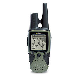 Garmin Rino 120 2-Mile 22-Channel FRS/GMRS Two-Way Radio and GPS