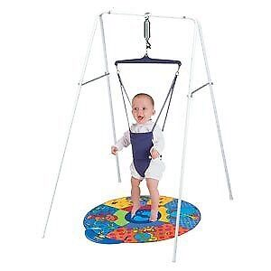 Jolly jumper with stand and musical mat. $60