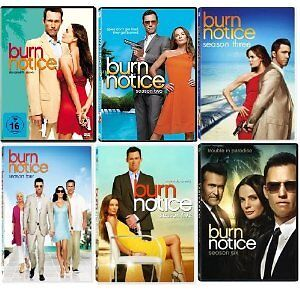 BURN NOTICE SEASONS 1 , 2 ,3 ,4 ,5 DVD SETS INDIVIDUAL SETS
