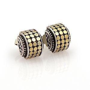 John Hardy Dot Earrings