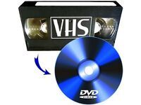 Transfer your VHS & VHSc Video Tapes or Cine Films to DVD disc FOR FREE