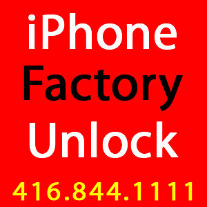 IPHONE UNLOCK SERVICE - | TELUS | KOODO | BELL | VIRGIN |