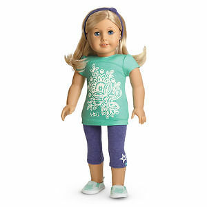 American Girl Doll Clothes- Tropical Bloom Outfit (Retired)
