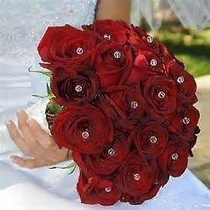 Rhinestone Bouquet Flowers Petals Amp Garlands Ebay