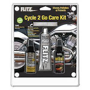 Flitz Brand Cycle 2 Go - Motorcycle/ATV Cleaning Kit