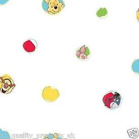 3 rolls Winnie the Pooh Wallpaper