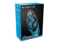 LOGITECH G402 HYPERION FURY GAMING MOUSE BRAND NEW