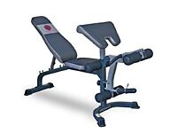 MARCY ELITE ADJUSTABLE WEIGHTS BENCH WITH ATTACHMENTS