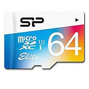 Silicon Power 64GB up to 85MB/s MicroSDXC UHS-1 Class 10, Elite