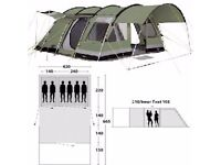 New Price £400 - Outwell Bear Lake 6 Tent
