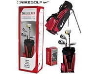 """Used Nike Tiger Woods Junior Golf Set for Ages 5-7 - Height under 4'2"""""""