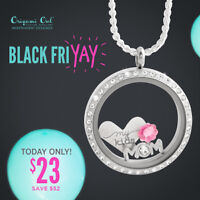 Origami Owl Black Friday One Day deals....get ready to shop!