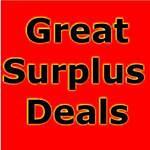 Great Suplus Deals