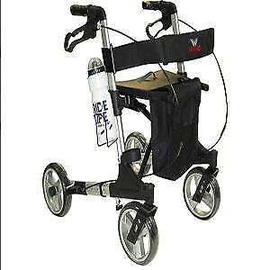 Walking aid for the aged with a trolley aid for pregnant women 029063