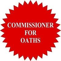 Commissioner for Oaths in Office or @ your Location (Mobile)