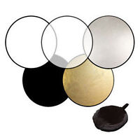 5 in 1 photography studio Collapsible light reflectors