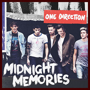 One Direction-Midnight Memories-new and sealed cd + bonus