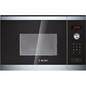 Bosch HMT75M654B Built-in Microwave Oven Stainless Steel For 60cm Wid HMT75M654B