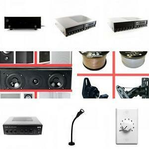 Weekly Promotion! Professional Speaker Amplifier, Speco Amplifier, HPA Amplifier,Famous brand from America and Korea.