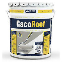 Gaco Flat Roof  White Silicone Membrane Waterproofing - $180