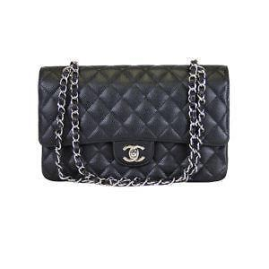 Chanel Black Caviar Flap