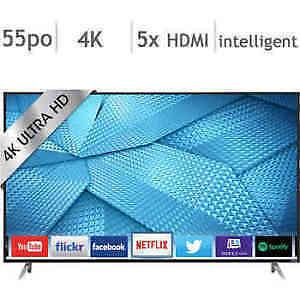 Vizio® – Téléviseur intelligent 4K Ultra HD DEL 55 po – M55-C2