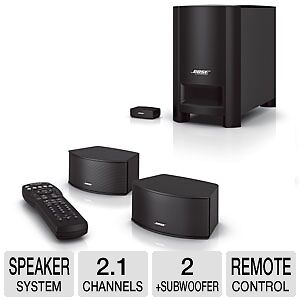 Bose CineMateu00AE GS Series II Digital Home Theater Speaker System