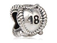 Genuine PANDORA 18 Sterling silver Charm Boxed & Gift bag £10