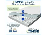 BRAND NEW Tempur Original 21 Kingsize Mattress