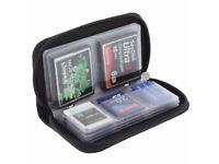 Universal Memory Card Storage Wallet Case Bag Holder SD Micro 22 Slots Camera