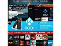 Amazon Fire Stick Fully Loaded with KODI - Best Build Around