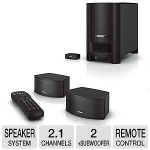 Bose CineMate® GS Series II Digital Home Theater Speaker System
