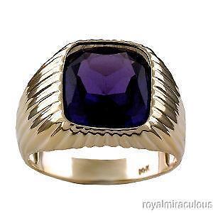 Natural Alexandrite Mens Ring