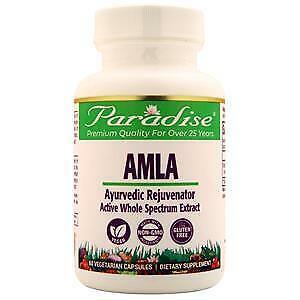 Paradise Herbs Amla - Natural Vitamin C  60 vcaps