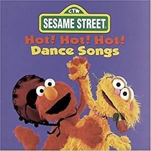 CD Audio, Sesame Street Hot! Hot! Hot! Dance Songs (NEUF)