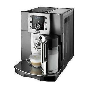 delonghi esam 5500 m kaffeevollautomat milchbeh lter perfecta cappuccino neu ebay. Black Bedroom Furniture Sets. Home Design Ideas