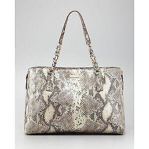Kate Spade Snakeskin Handbag Ebay
