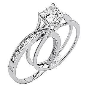white gold diamond wedding rings - Wedding Rings Ebay