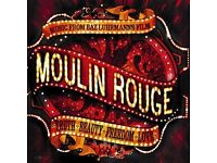 2 x Secret Cinema, Moulin Rouge tix Sat 29 April