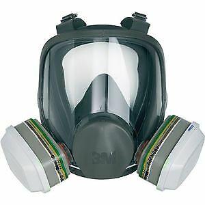 3M Atemschutz-Vollmaske ohne Filter, 6800M