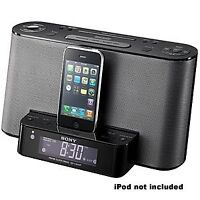 Sony Dream Machine FM/AM Radio Alarm Clock Ipod/Iphone