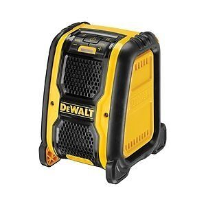 DeWalt DCR006 Bluetooth Speakerin Yate, BristolGumtree - DeWalt DCR006 Bluetooth speaker, with auxiliary input, bare unit no batteries fitted would suit DeWalt XR Li ion 10.8v/14.4v/18v batteries, as used with DeWalt power tools. Yate collection only