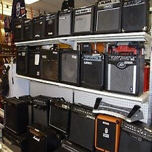 WIDE VARIETY OF GUITAR AMPS