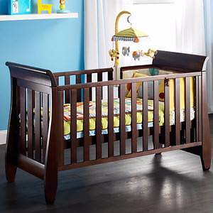Boori Waratah Baby Cot Bed with Mattress - like NEW Sunnybank Brisbane South West Preview