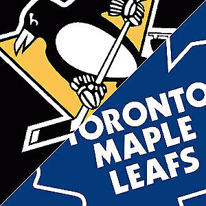 MAPLE LEAFS vs PITTSBURGH PENGUINS TONIGHT - $210