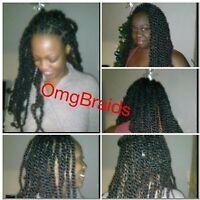 Twists® Faux locks® Cornrows® by OmgBraids